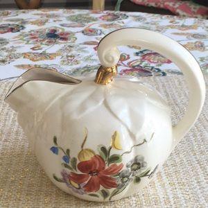 Vintage Farmhouse floral pitcher